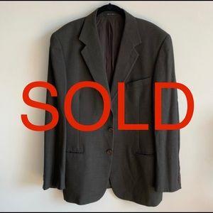 SOLD 10/20/19 Emporio Armani Men's Blazer Jacket